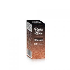 E-tekućina VIRGINIA WHITE USA Mix, 18mg/10ml