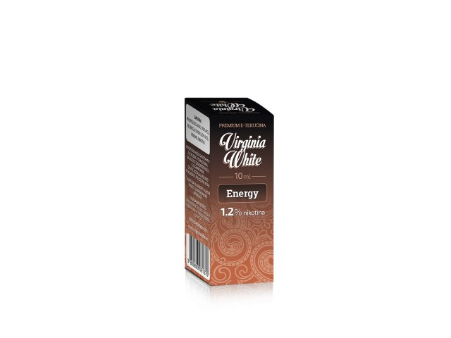 E-tekućina VIRGINIA WHITE Energy, 12mg/10ml