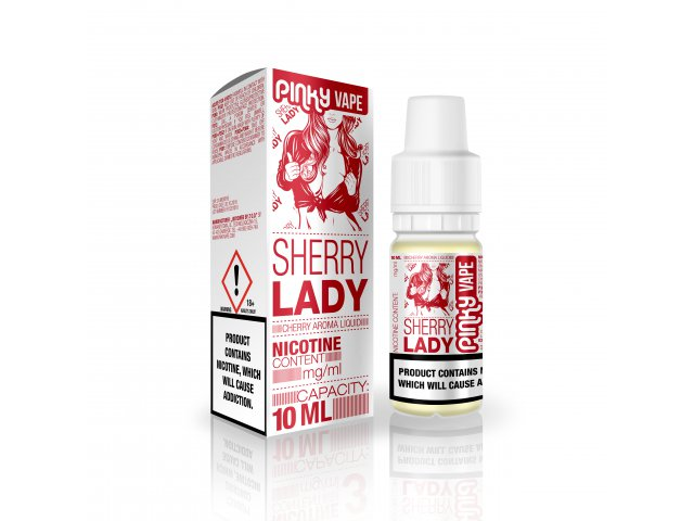 E-tekućina PINKY VAPE Sherry Lady, 18mg/10ml