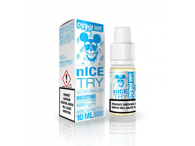 E-tekućina PINKY VAPE Nice Try, 0mg/10ml