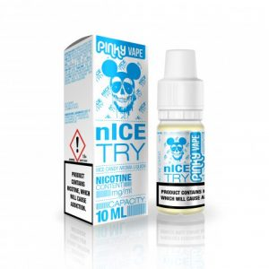 E-tekućina PINKY VAPE Nice Try, 6mg/10ml