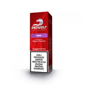 E-tekućina RED WOLF Rebel, 12mg/10ml