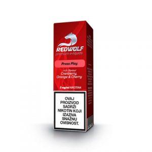 E-tekućina RED WOLF Press Play, 3mg/10ml