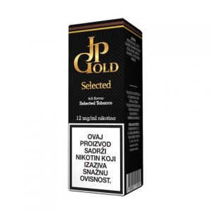 E-tekućina JP GOLD Selected, 12mg/10ml