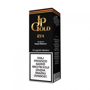 E-tekućina JP GOLD RY4/Just Right, 12mg/10ml