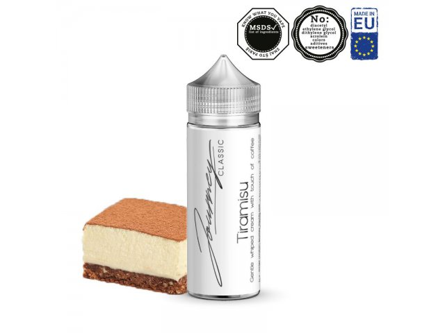 Shake&Vape JOURNEY Classic Tiramisu 24/120 ml