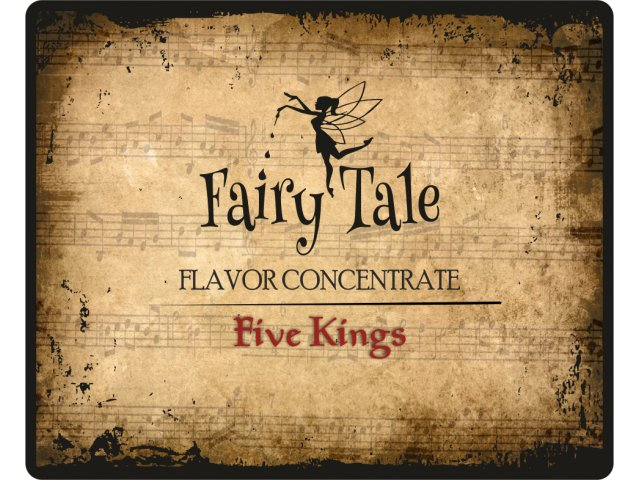 E-tekućina FAIRY TALE FIVE KINGS-shake&vape