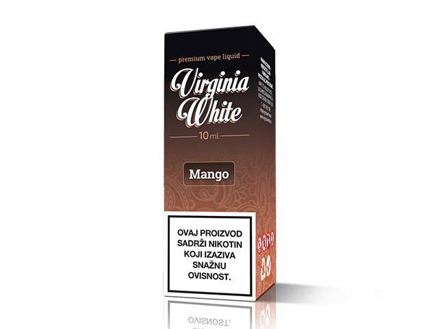 E-tekućina VIRGINIA WHITE Mango, 12mg/10ml