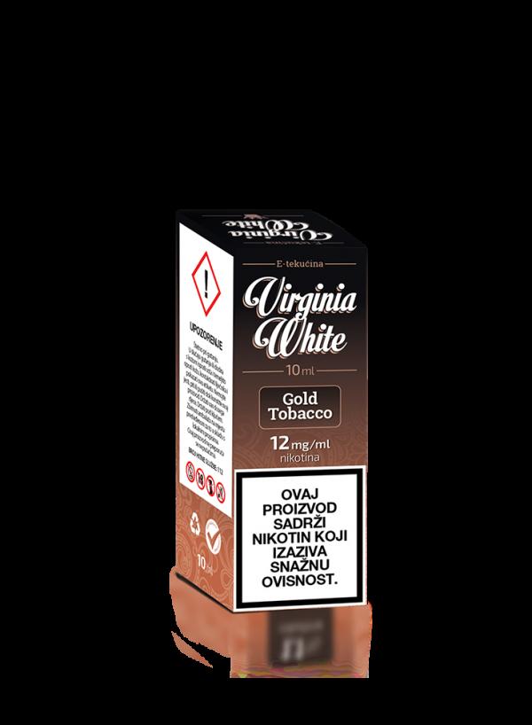 E-tekućina VIRGINIA WHITE Gold Tobacco 12mg/10ml