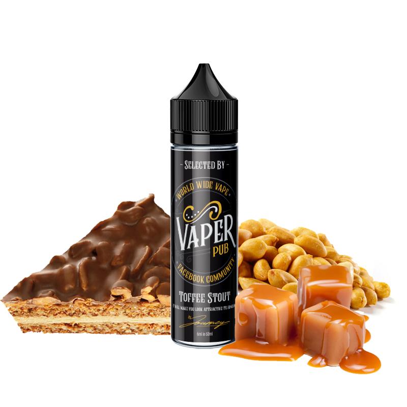 Shake&Vape VAPER PUB Toffee Stout 6/60 ml