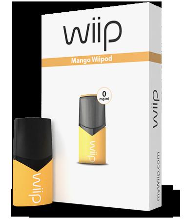 E-tekućina Wiipod, Mango 0mg