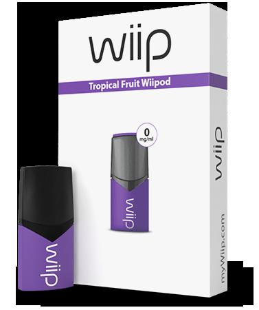 E-tekućina Wiipod, Tropical fruit 0mg
