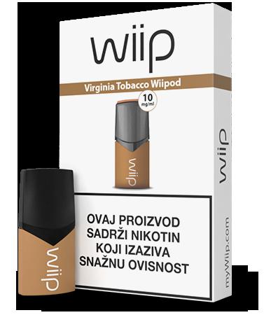 E-tekućina Wiipod, Virginia Tobacco 10mg